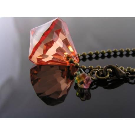 Chunky Acrylic Drop Necklace