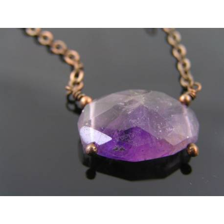 Amethyst Nugget Necklace