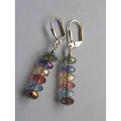 Colourful Mystic Quartz Earrings