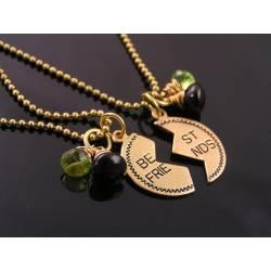 Best Friends Necklaces, Birthstone Jewellery