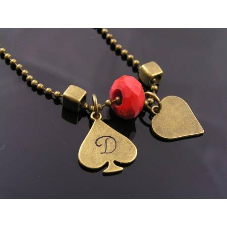 Initial Necklace, Partner Necklace