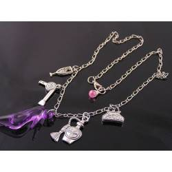 Fun Necklace with Charms, For Girls