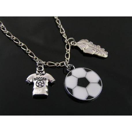Soccer Charm Necklace
