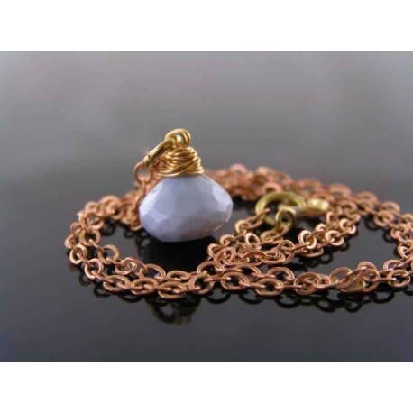 Oregon Blue Opal Necklace, Owyhee Opal