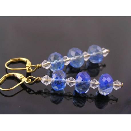 Blueberry Quartz Earrings