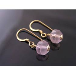 Ametrine Earrings, gold filled