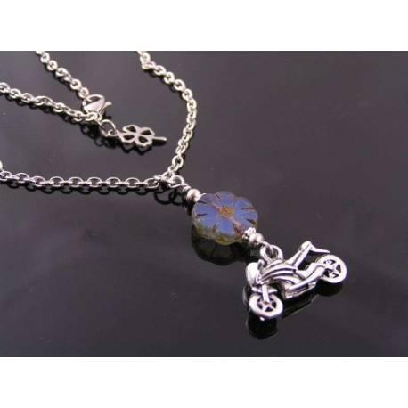 Motorcycle Necklace, Sportsbike Necklace