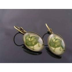 Raven Sleeper Earrings