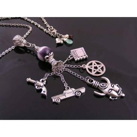 Supernatural Memento Charm Necklace