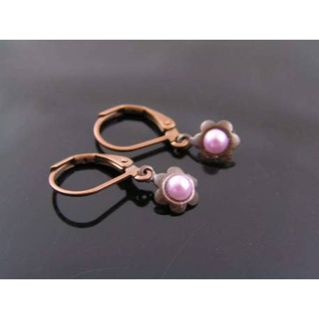 Tiniest Pearl Earrings