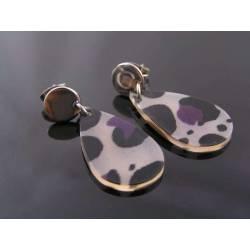 Fabulous Acrylic Retro Earrings