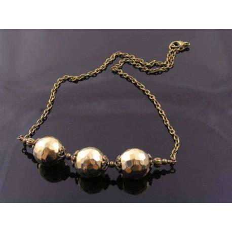 Golden Retro Necklace