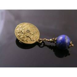 Lapis Lazuli Brooch