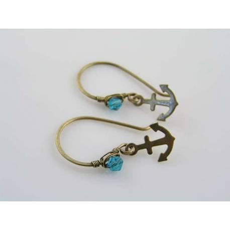 Cute Anchor Earrings