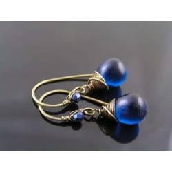 Dark Teal Earrings