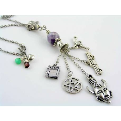 Supernatural Memento Charm Necklace