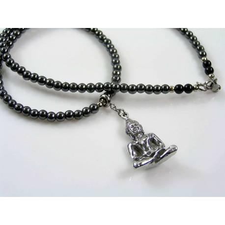 Imperial Jasper, Buddha Necklace
