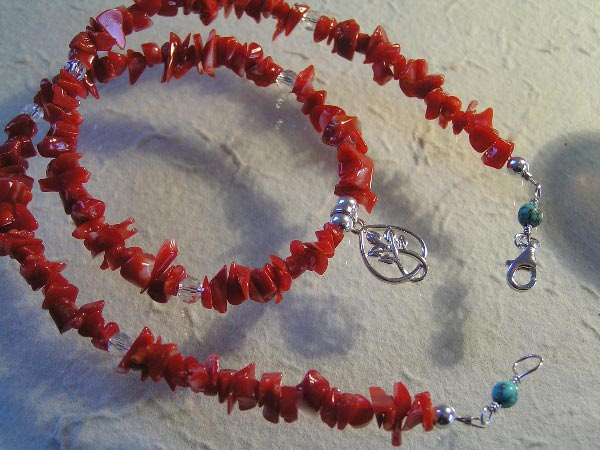 Natural Mediterranean Coral Necklace
