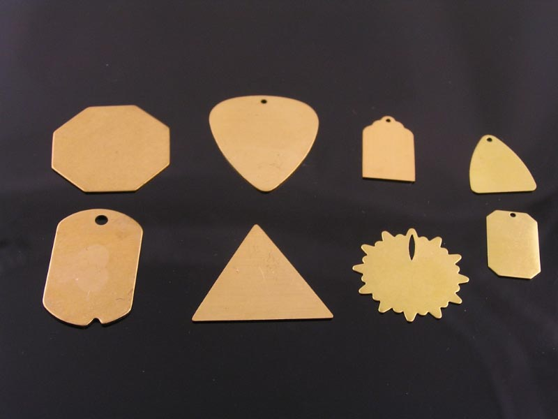 Brass Pendants for Stampin