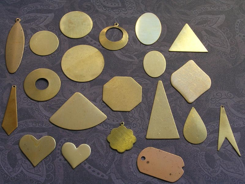 Solid Brass Blanks for Stamping