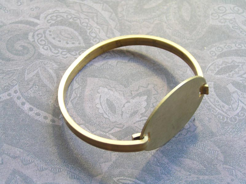 Brass Bangle for Stamping