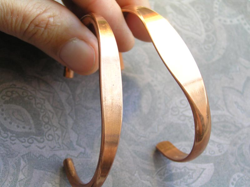 Copper Cuffs for Stamping