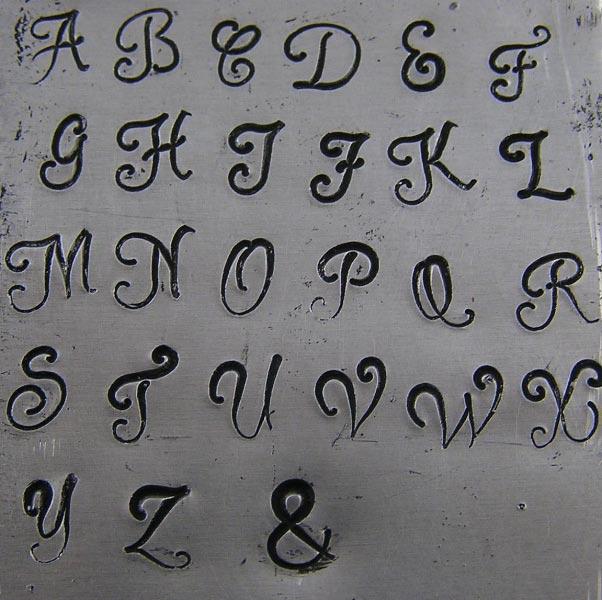 Monogram Font, large