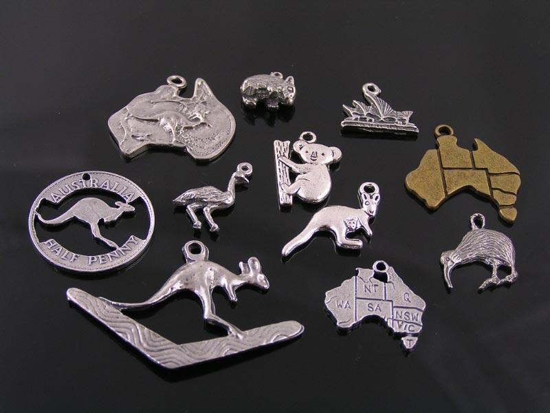 Australian charms and pendants