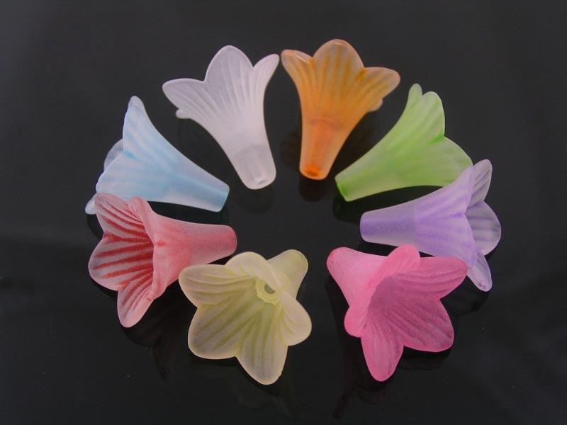 Acrylic Flowers, 22mm