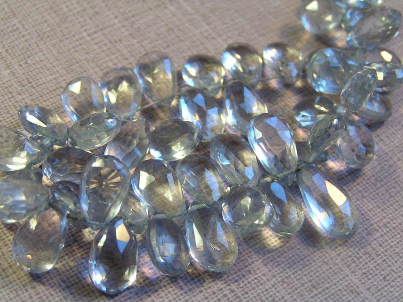 Mystic blue quartz
