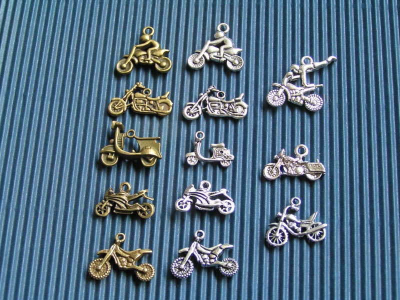 Motorcycle Charms