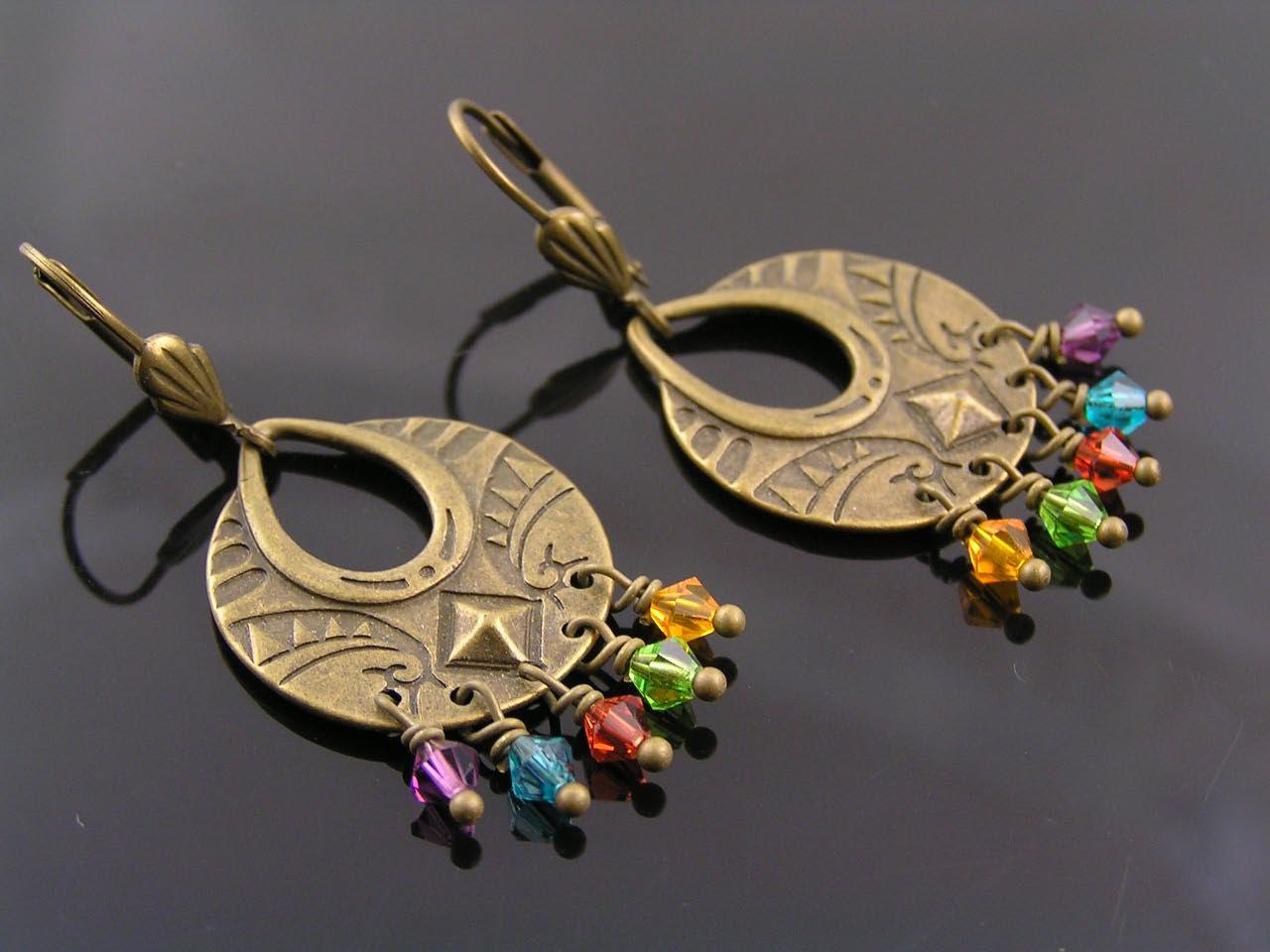 Chrystal Chandelier Earrings