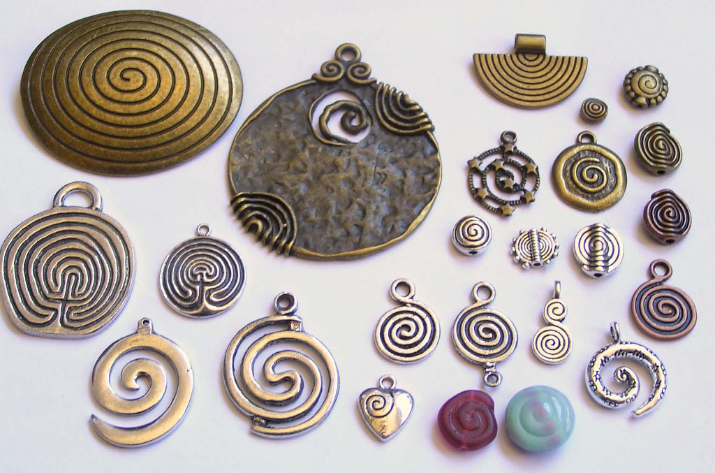 Spiral Charms
