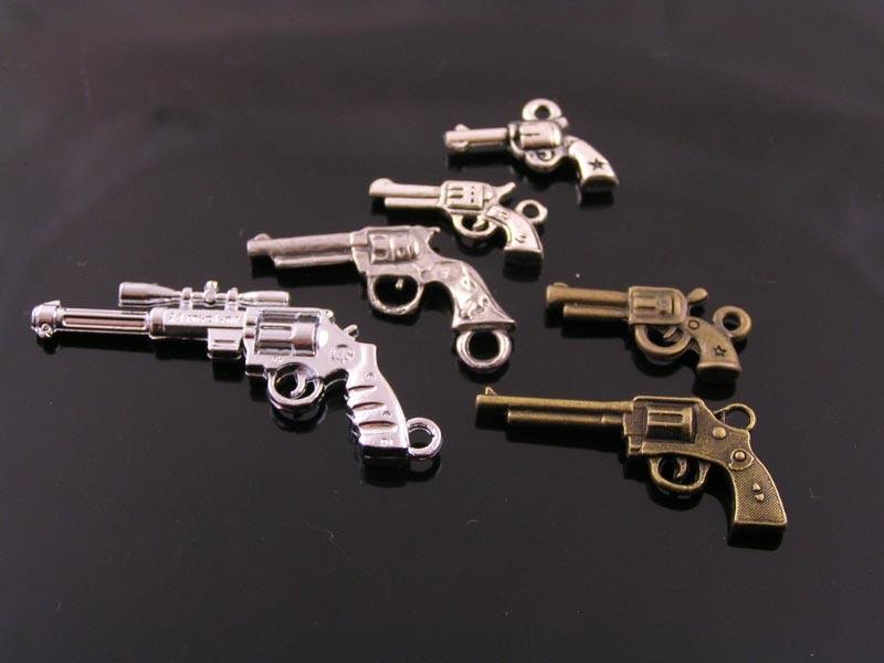 Hand Gun Charms