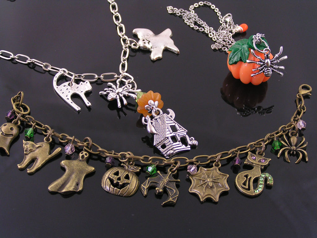 Halloween Jewelry available now