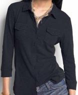 Button Down Shirt Neckline