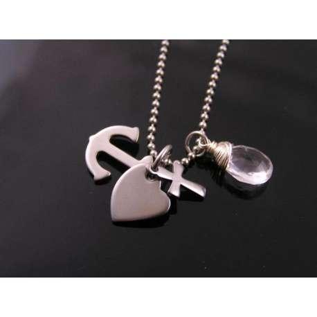 Faith, Love and Hope Necklace