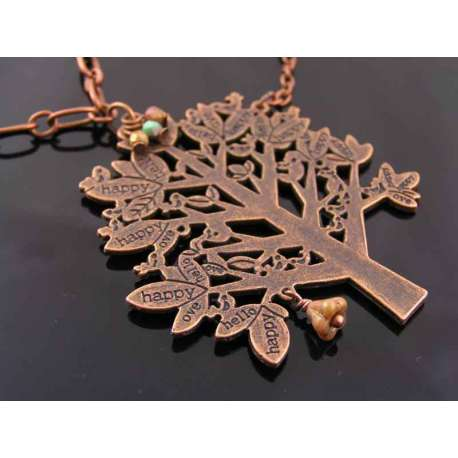 Large Tree Body Necklace