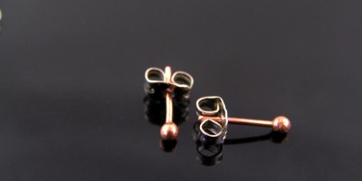 Handmade Copper Stud Earrings - Finally Back in Stock