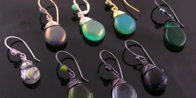 New Lot of Wire Wrapped Earrings