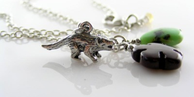 New: Tasmanian Devil Charm Necklace