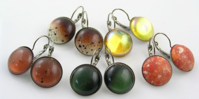Versatile Cabochon Earrings