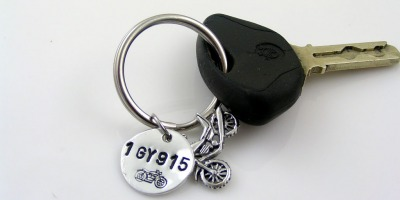 Key Ring for Motorcycle Rider
