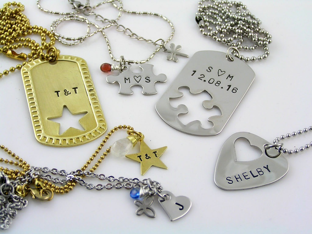 Matching Couple Necklaces, Great Gift Idea