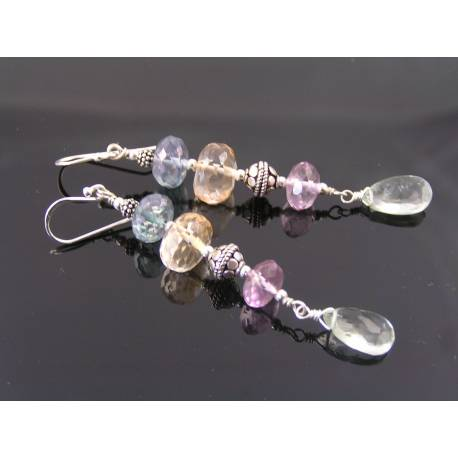 Mystic Quartz Earrings