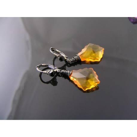 Baroque Crystal Earrings