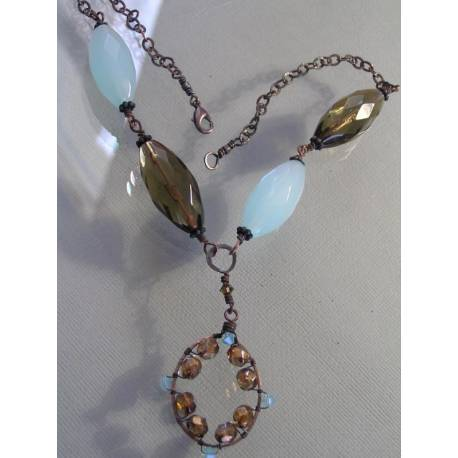 Beach Treasures - Necklace with large Beads