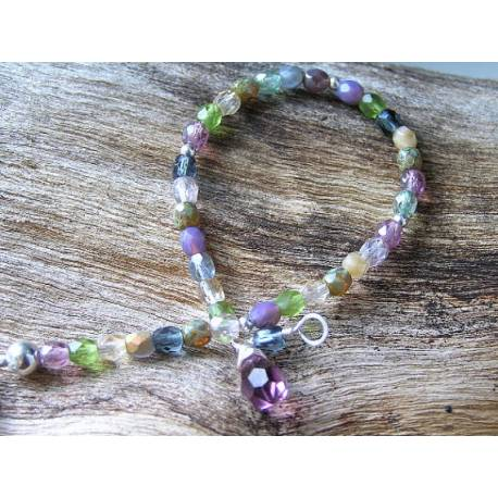Czech Bead Stacking Bracelet