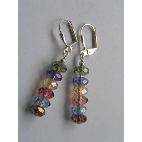 Colourful Mystic Quartz Earrings
