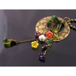 Cascading Flower Necklace